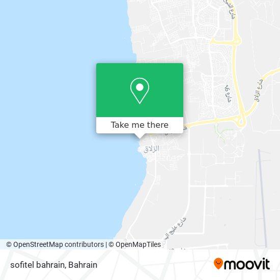 sofitel bahrain map
