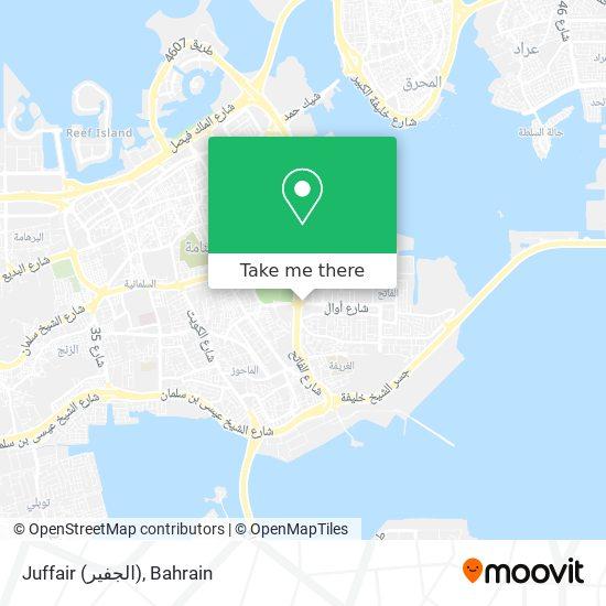 Juffair (الجفير) map