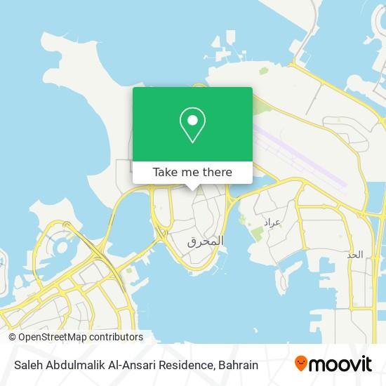 Saleh Abdulmalik Al-Ansari Residence map