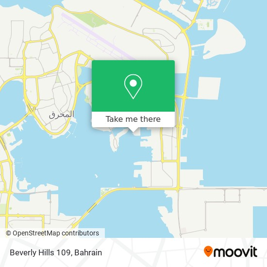 Beverly Hills 109 map