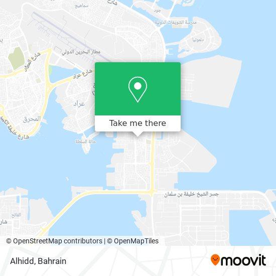 Alhidd map