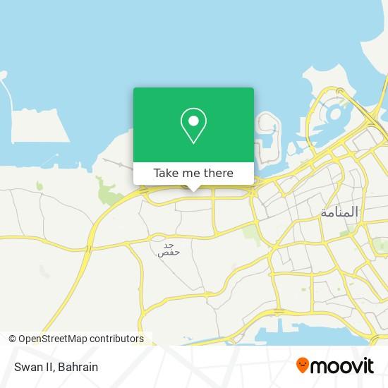 Swan II map