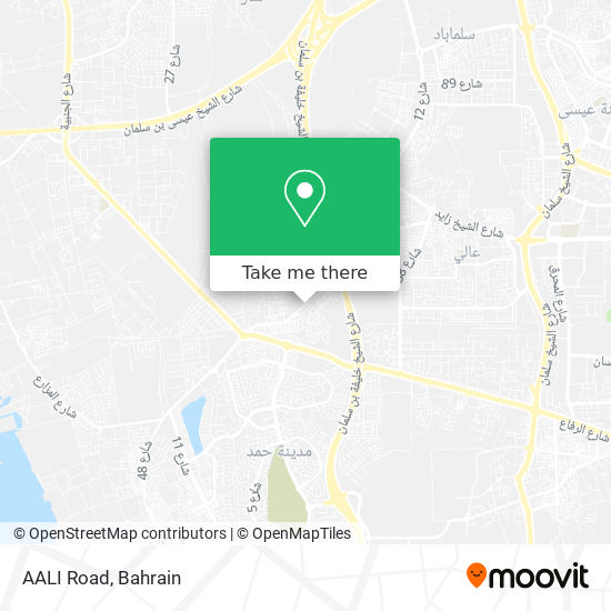 AALI Road map