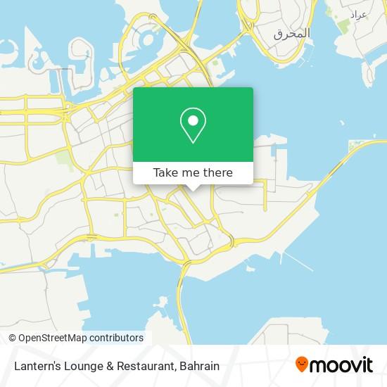 Lantern's Lounge & Restaurant map