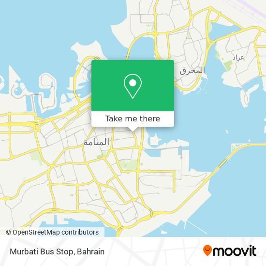 Murbati Bus Stop map