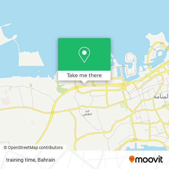 training time map