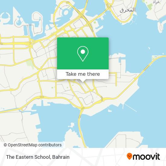 The Eastern School map