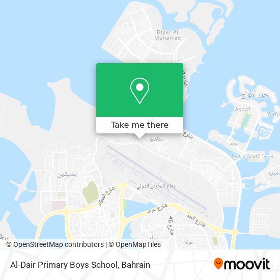 Al-Dair Primary Boys School map