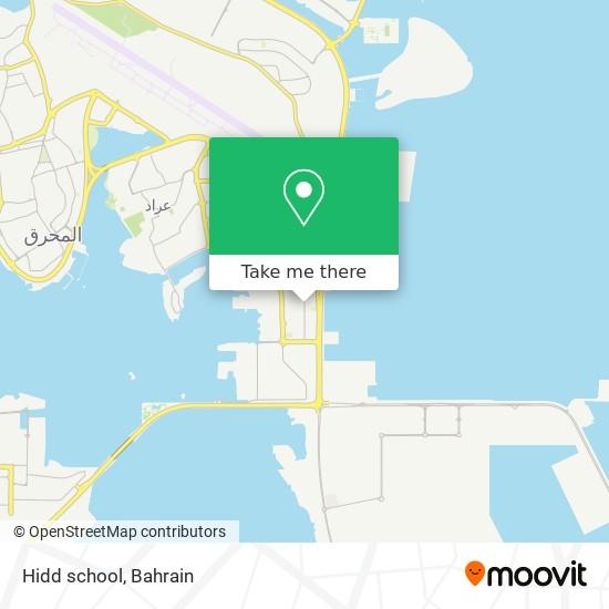 Hidd school map