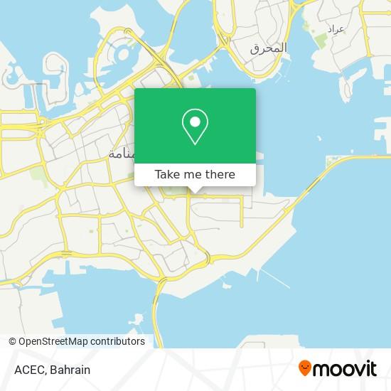 ACEC map