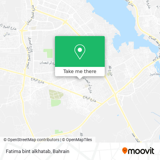 Fatima bint alkhatab map