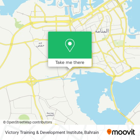 Victory Training & Development Institute map