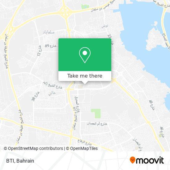 BTI map