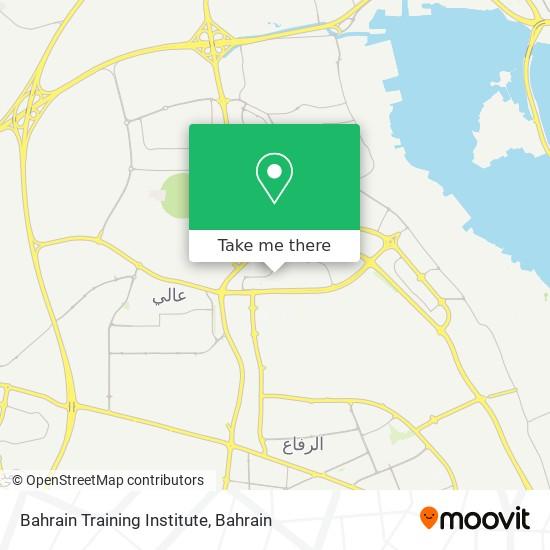 Bahrain Training Institute map