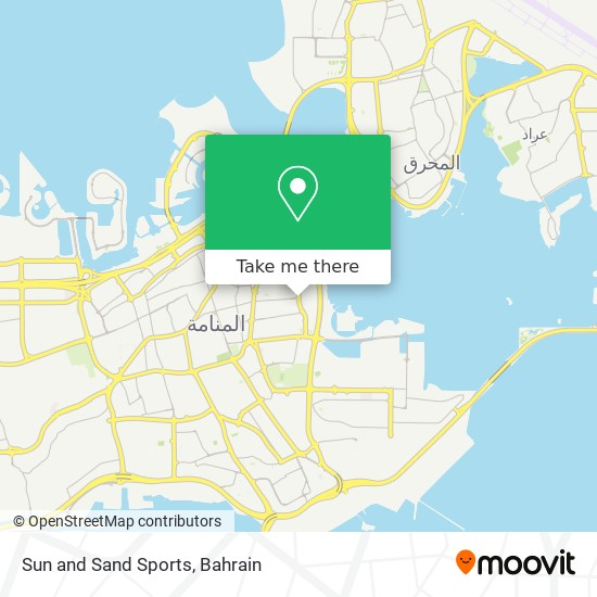 Sun and Sand Sports map
