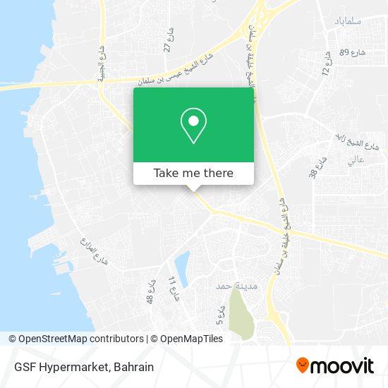 GSF Hypermarket map