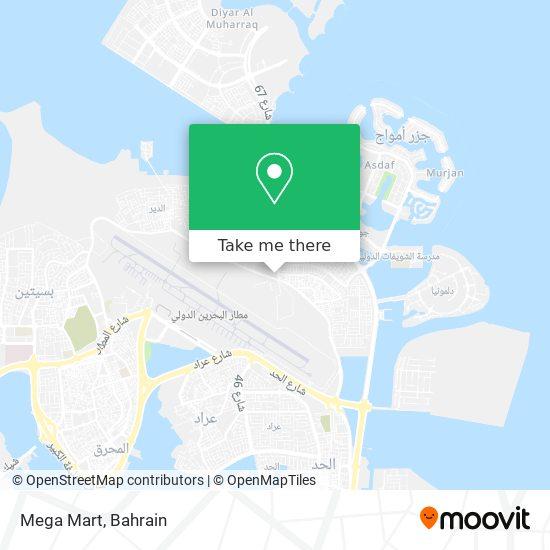 Mega Mart map