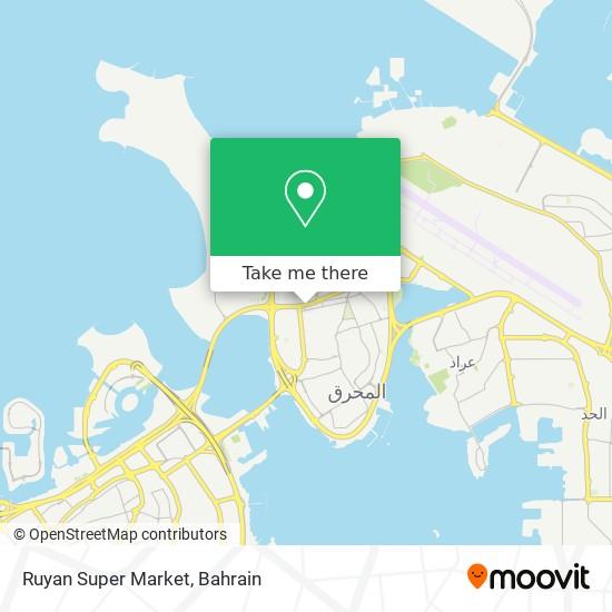 Ruyan Super Market map