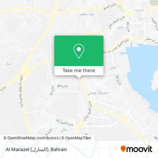 Al Manazel (المنازل) map