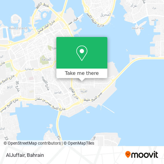 AlJuffair map