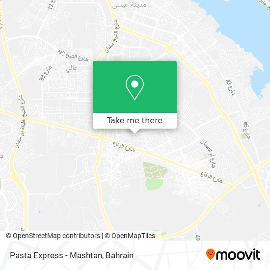 Pasta Express - Mashtan map