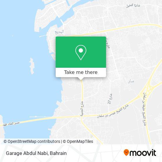Garage Abdul Nabi map