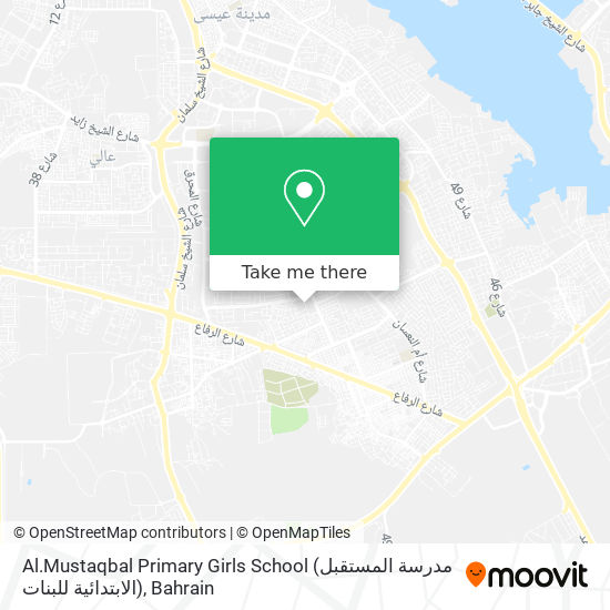 Al.Mustaqbal Primary Girls School (مدرسة المستقبل الابتدائية للبنات) map
