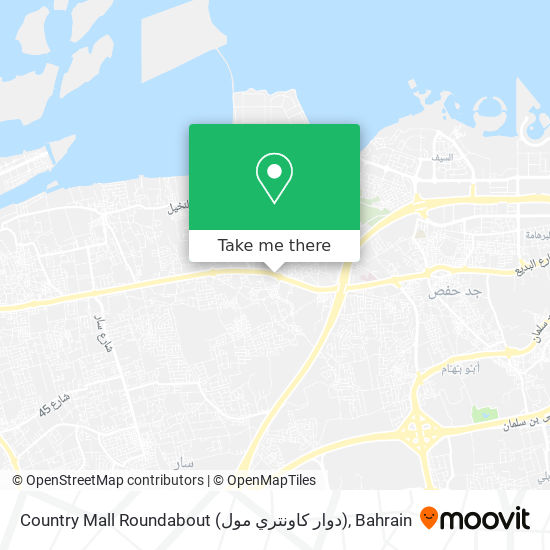 Country Mall Roundabout (دوار كاونتري مول) map