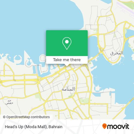 Head's Up (Moda Mall) map