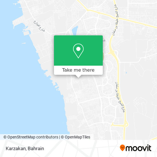 Karzakan map