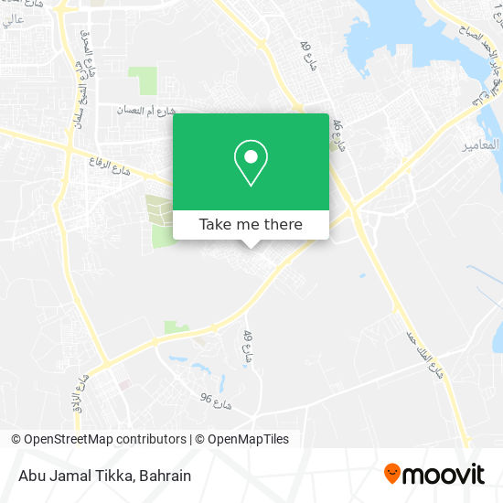 Abu Jamal Tikka map