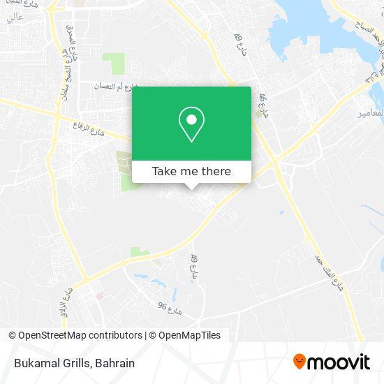 Bukamal Grills map