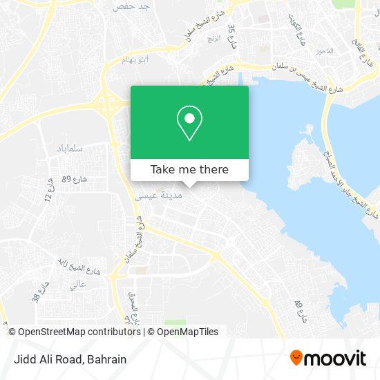 Jidd Ali Road map