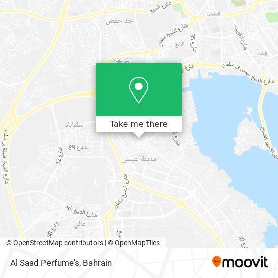 Al Saad Perfume's map