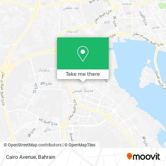 Cairo Avenue map