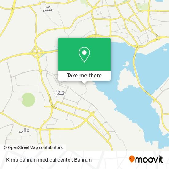 Kims bahrain medical center map