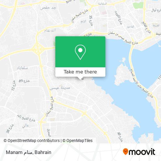 Manam منام map