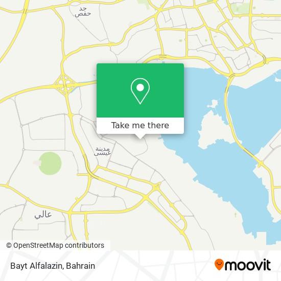 Bayt Alfalazin map