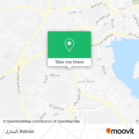 المنازل map