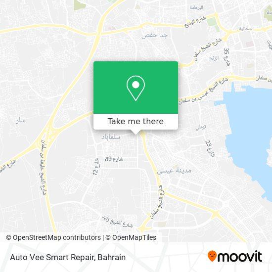 Auto Vee Smart Repair map