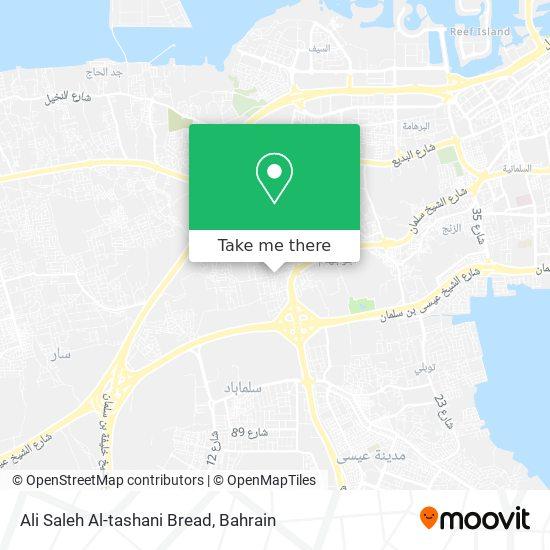 Ali Saleh Al-tashani Bread map