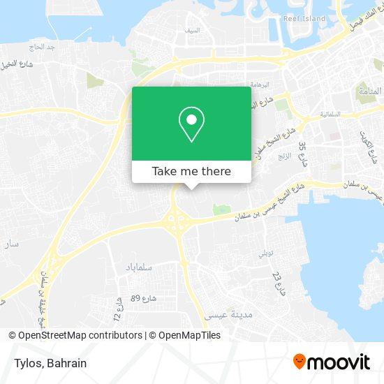 Tylos map