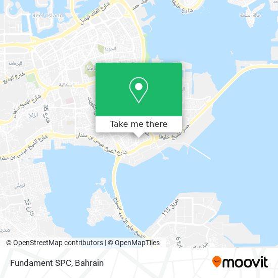 Fundament SPC map