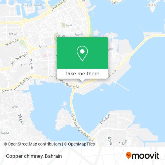 Copper chimney map