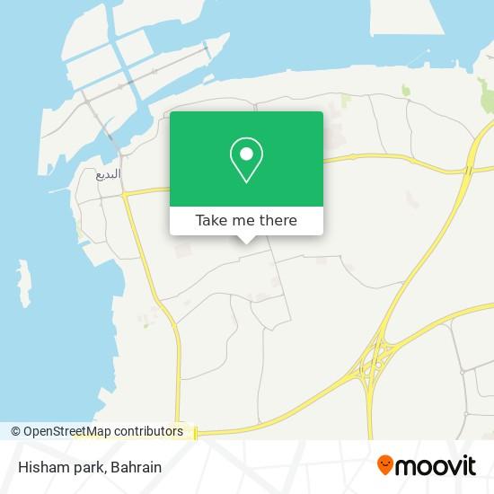 Hisham park map