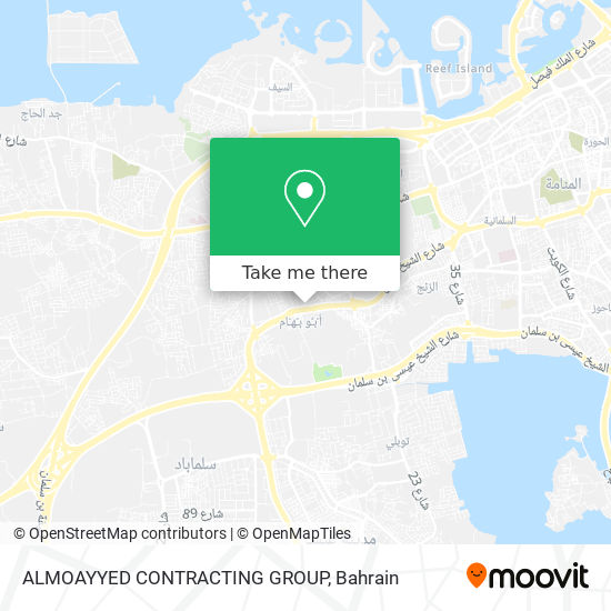 ALMOAYYED CONTRACTING GROUP map