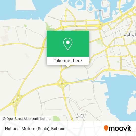 National Motors (Sehla) map