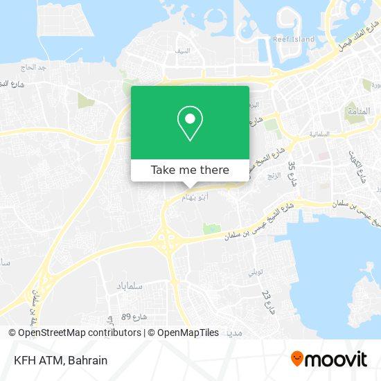 KFH ATM map