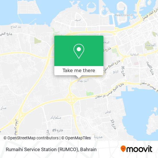 Rumaihi Service Station (RUMCO) map