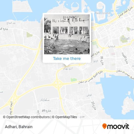 Adhari map